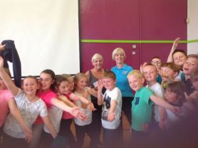 £320 raised by Dancing with Gillian for Macmillan!