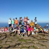 P4 had a sunny day at the Causeway!