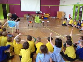 RNLI safety talk.