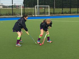 Great success for our girls' hockey team.
