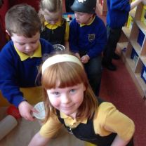 Space cadets in Primary 1!