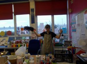 Pancake day in Mrs Henry's room!