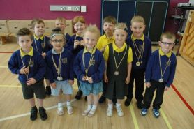 Sports' Day Medal Winners 2017