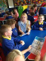 P4 entertain P1 with their Finn McCool comics!