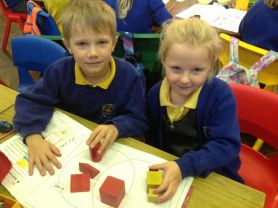 P3 learn all about shape.