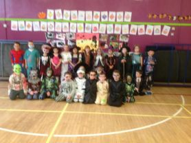Halloween Disco costumes